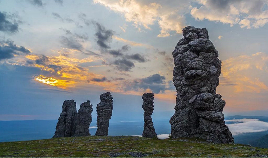 Маньпупунёр. Печоро-Илычский заповедник, Россия.