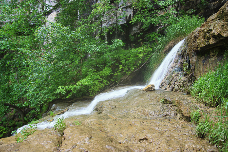 Водопад Куперля. Национальный парк «Башкирия», Россия. Фото http://63r.livejournal.com/46956.html.