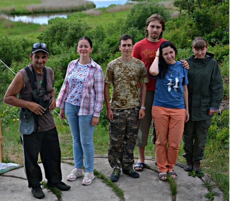 Волонтеры в Муравьевском парке.
