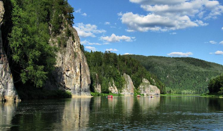 Река Мрассу. Шорский национальный парк, Россия. Фотография http://shoria.su/foto-shoria-sheregesh/?nggpage=3.