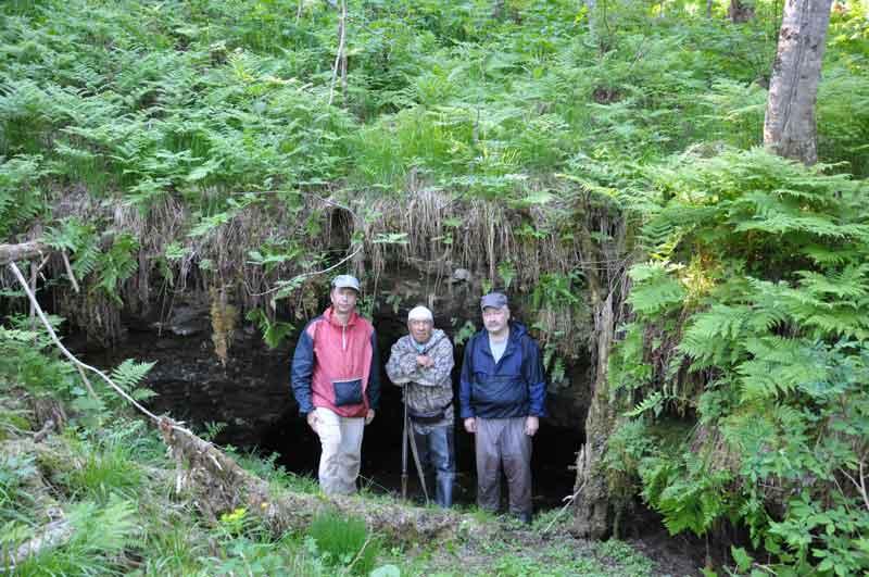 На территории Шорского национального парка открыта новая пещера – Лазаревская. Фотография https://www.facebook.com/profile.php?id=100011874053446.