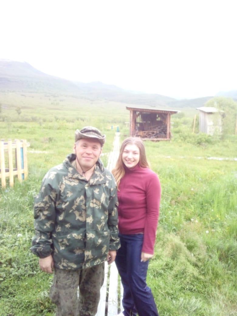 Волонтеры Природного парка «Быстринский». КГБУ «Природный парк «Вулканы Камчатки», Россия.