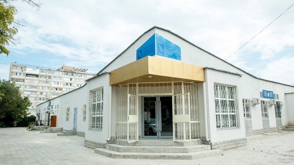 The Caspian Seal Research and Rehabilitation Centre: the Republic of Kazakhstan, Aktau. The photo by Saken Dildakhmet