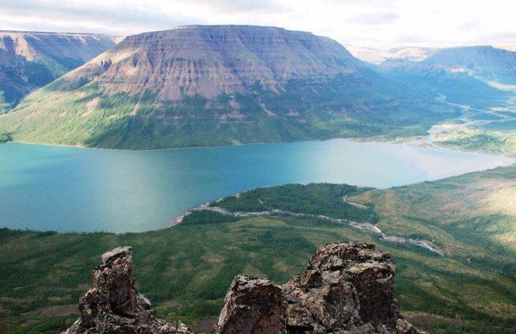 Озеро Лама и плато Путорана.
