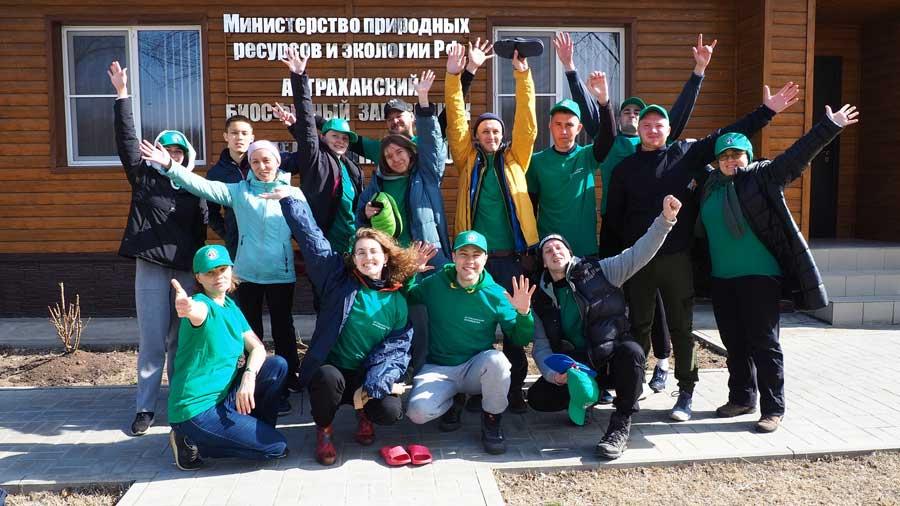 XVI Волонтёрская полевая экспедиция «Друзья Астраханского заповедника».