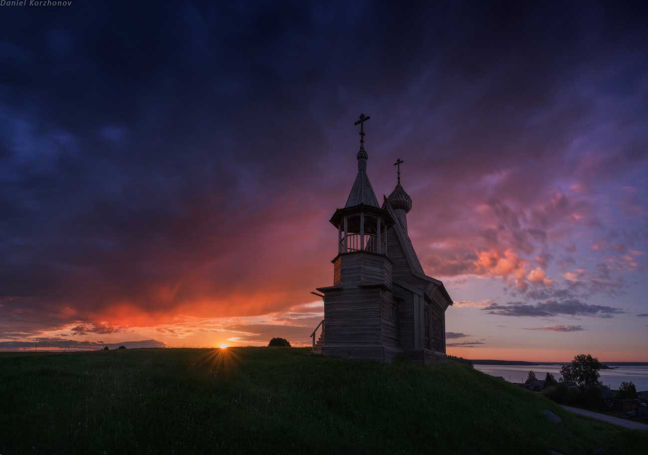 Вершинино. Никольская часовня. Кенозерский национальный парк, Россия. Фотография Даниила Коржонова, http://nikonofficial.livejournal.com/169270.html.
