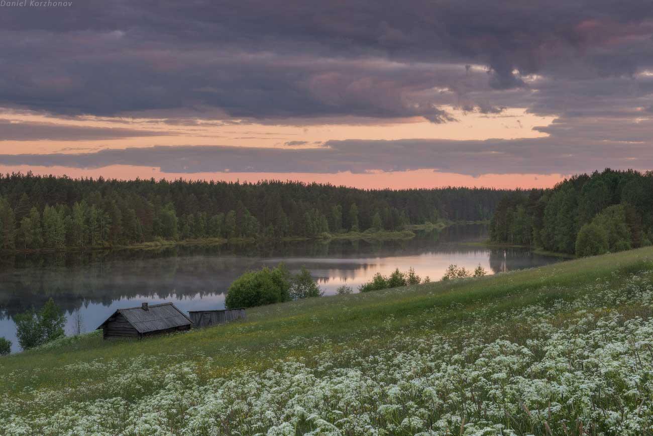 Кенозерский национальный парк, Россия. Фотография Даниила Коржонова, http://nikonofficial.livejournal.com/169270.html.